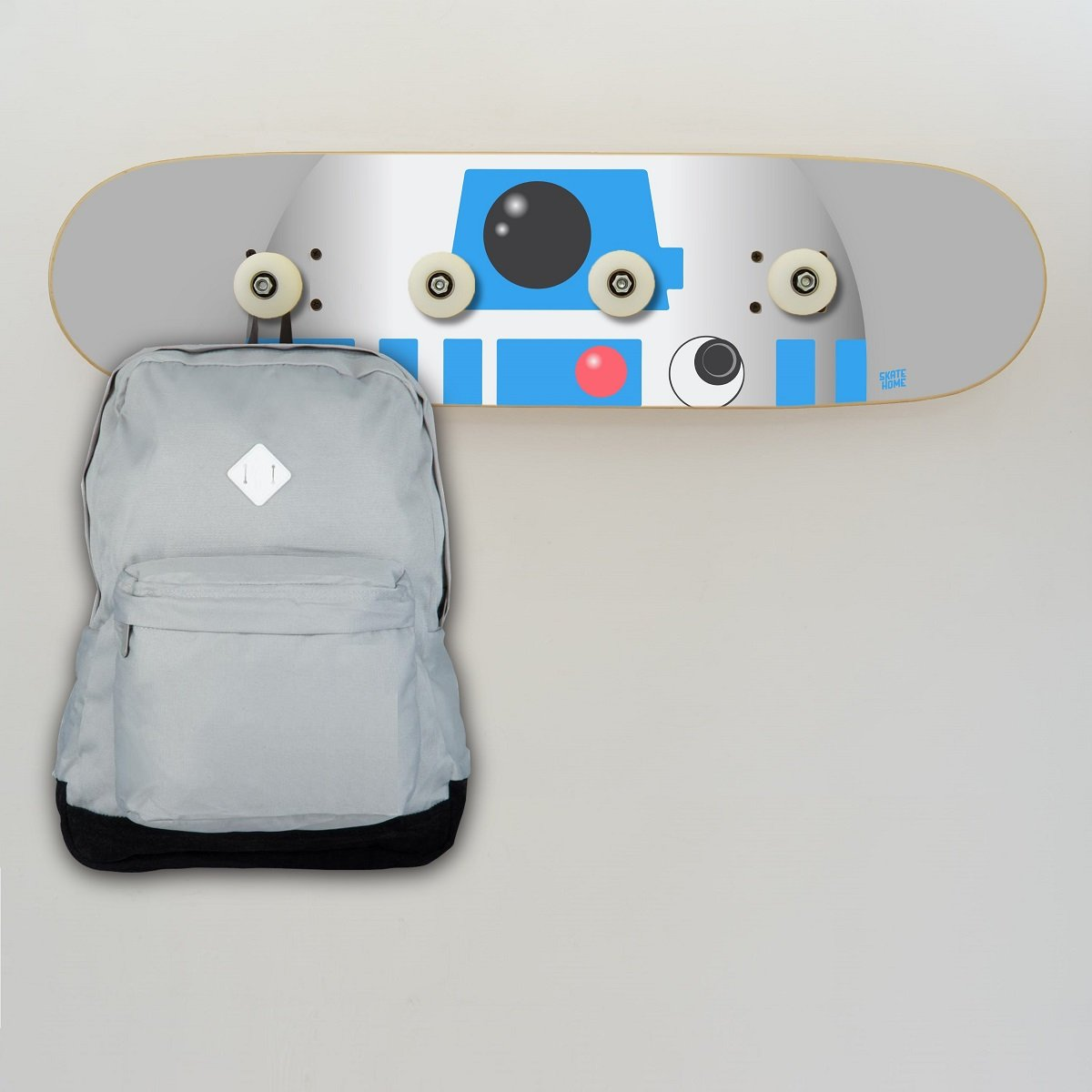 Amazon.com: Skateboard.R2-D2 Star Wars Modern Wooden Board ...