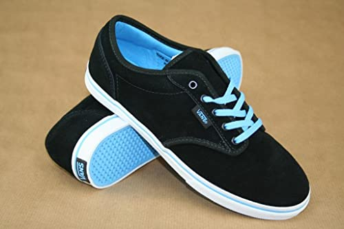 Vans Atwood Low - Zapatillas de ante para mujer negro (Suede) Black Bonnie  Blue 4.5 UK  Amazon.es  Zapatos y complementos 43e9d57227