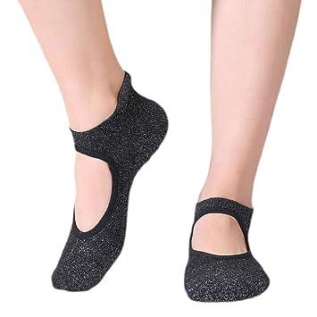 DIMPLEYA Calcetines De Baile Zapatos De Yoga Mujer Regalos ...