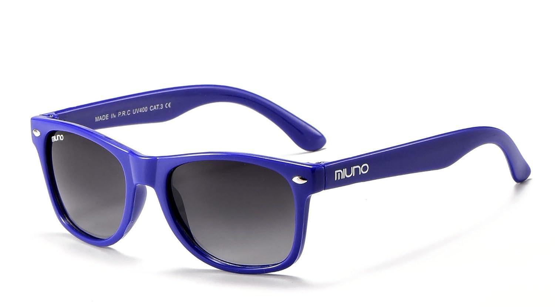 Miuno Kinder Sonnenbrille Wayfare für Jungen und Mädchen Etui 2688