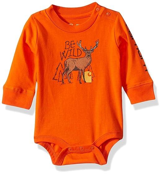 1c9bc44a9 Carhartt Baby Boys' Long Sleeve Bodysuit