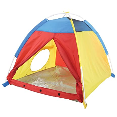 Pacific Play Tents Kids My First Fun Dome Tent - 42u0026quot; x 42u0026quot; x  sc 1 st  Amazon.com & Amazon.com: Pacific Play Tents Kids My First Fun Dome Tent - 42