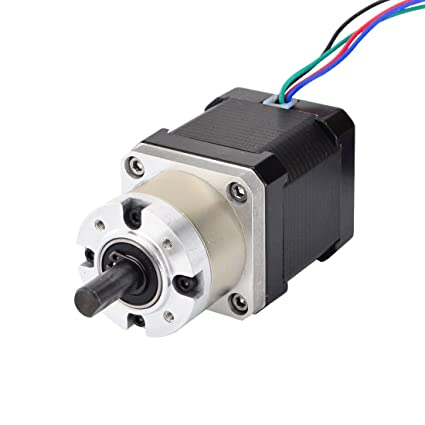 Nema 17 Geared Stepper Motor Gear Ratio 5 1 3d Printer Extruder