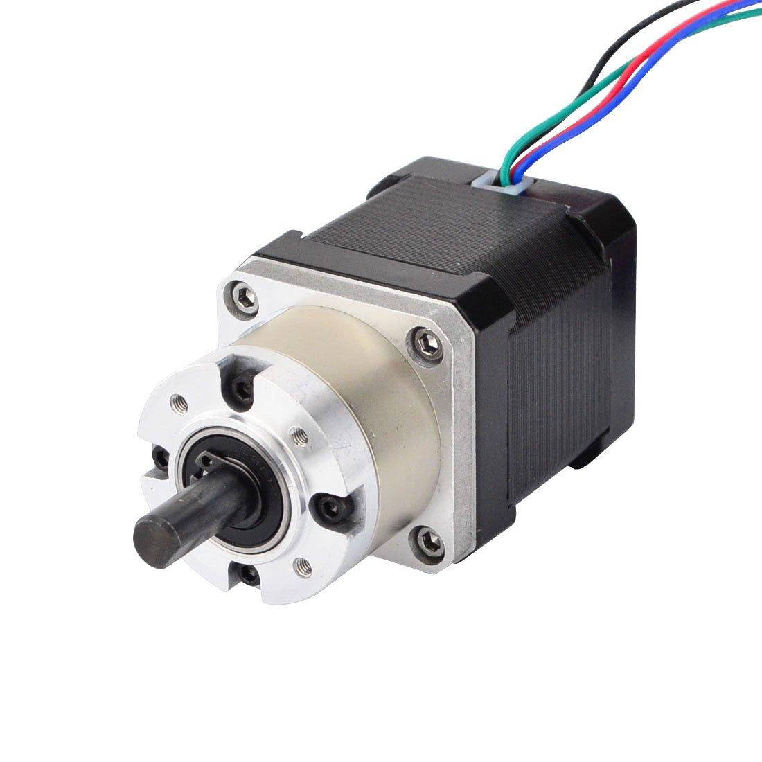 Nema 17 Geared Stepper Motor Gear Ratio 5:1 3D Printer Extruder Motor DIY CNC Robotics