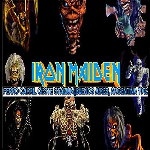 Iron Maiden - Ferro Carril Oeste Stadium,Buenos Aires, Argentina 1992