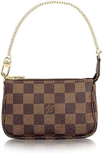 Louis Vuitton Damier Ebene lienzo Mini Pochette – Accessoires n58009: Amazon.es: Zapatos y complementos