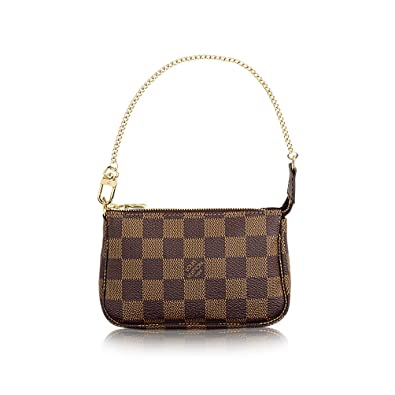 d81996454 Amazon.com | Louis Vuitton Damier Ebene Canvas Mini Pochette Accessoires  N58009 | Fashion Sneakers