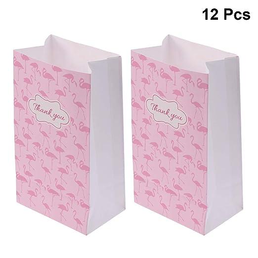 NUOBESTY 12PCS / Set Patrón Flamingo de Caricatura Caramelo ...