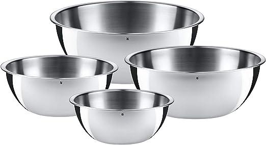 WMF Küchenschüssel-Set Cromargan 4 teilig 16cm 18cm 22cm 24cm
