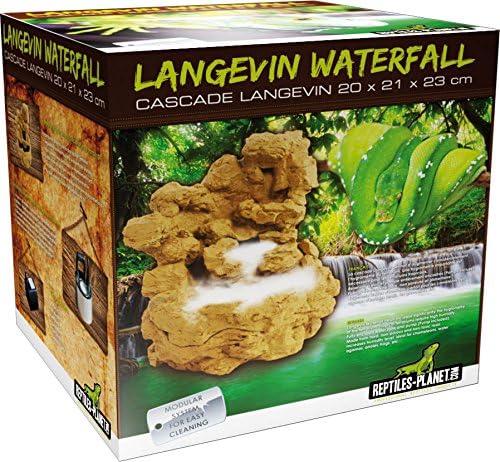 Diseño Planet Cascada para Reptiles terrarios Reptiles Langevin con Bomba