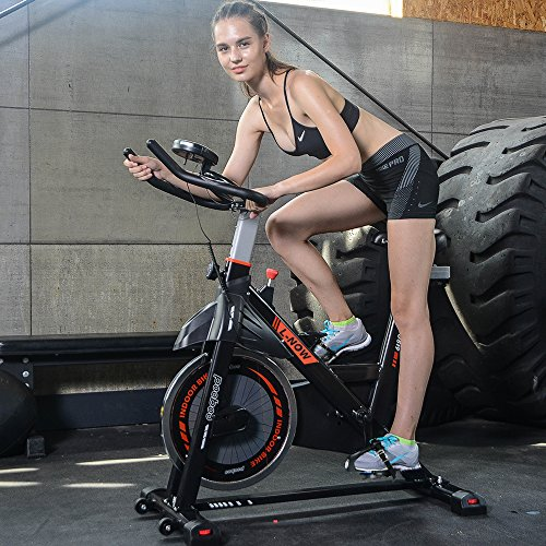 Indoor Cycling Bike Belt Drive Pro Exercise Bike By pooboo