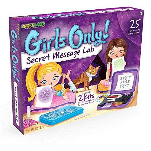 SmartLab Girls Only! Secret Message Lab Science Kit