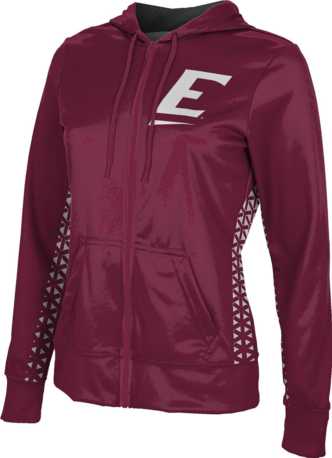 School Spirit Sweatshirt Eastern Kentucky University Girls Zipper Hoodie Geo