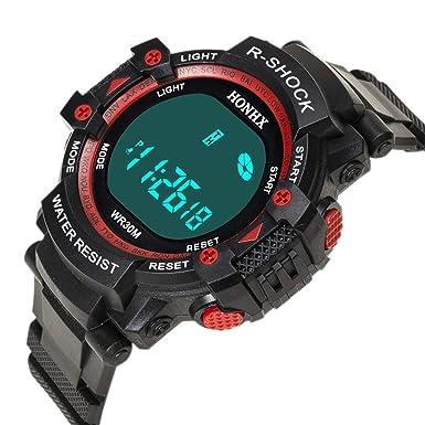 Rcool Relojes suizos relojes de lujo Relojes de pulsera Relojes para mujer Relojes para hombre Relojes deportivos,Relojes deportivos a prueba de agua con ...