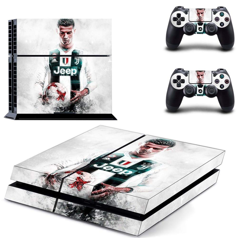 Homie store ps4 pro skin ps4 skins ps4 slim sticker football star cristiano ronaldo cr7 ps4 skin sticker decal for sony playstation 4 console and