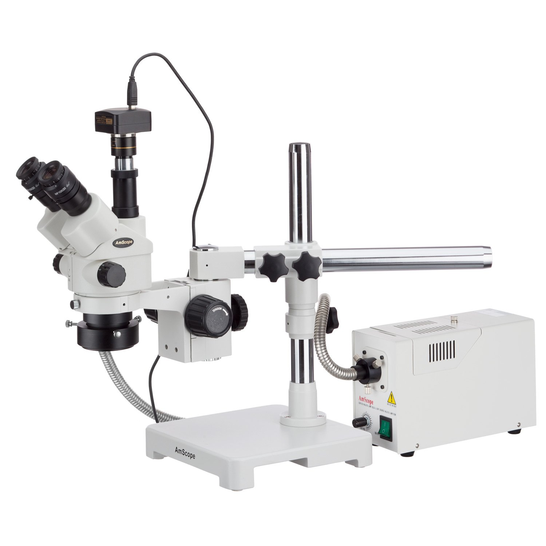 Amscope 3,5 x 180 x simul-focal Stereo abschließbar Zoom Mikroskop mit Glasfaser-Ring und 5 MP Kamera B06WWJX6L3   Für Ihre Wahl    Bunt,    Spezielle Funktion