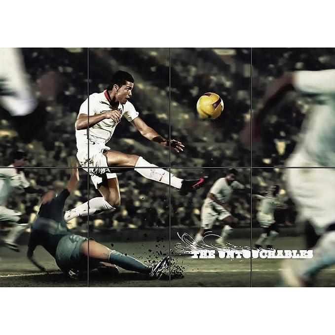 Amazon.com: Cristiano Ronaldo – Póster gigante para pared ...