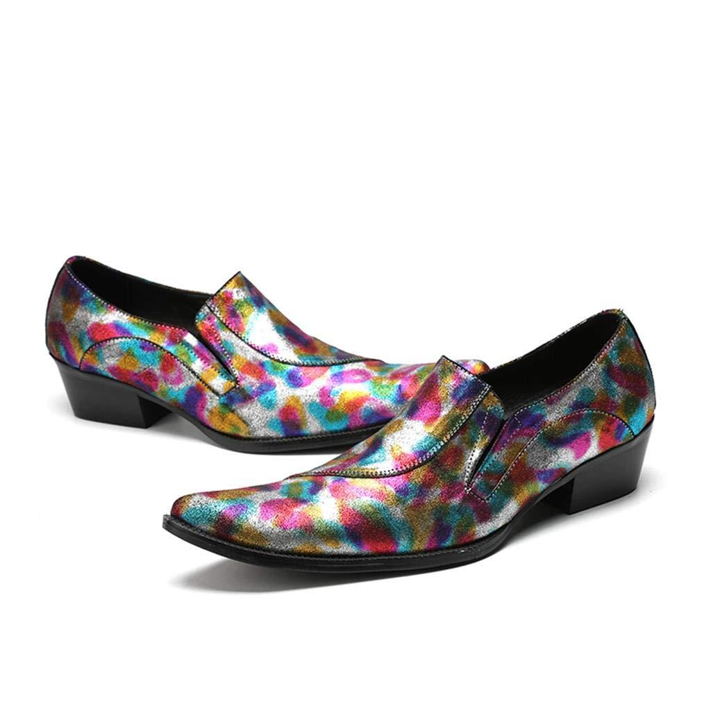 Sommer atmungsaktive Farbe Business Casual Casual Casual Schuhe für Männer 31dd1c