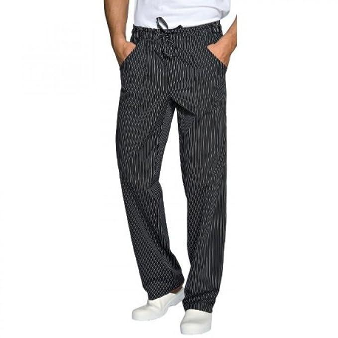 Isacco Pantaloni Cuoco Taglie Forti 4XL Gessato Bande Larghe  Amazon.it   Abbigliamento 7c272b3be1d2