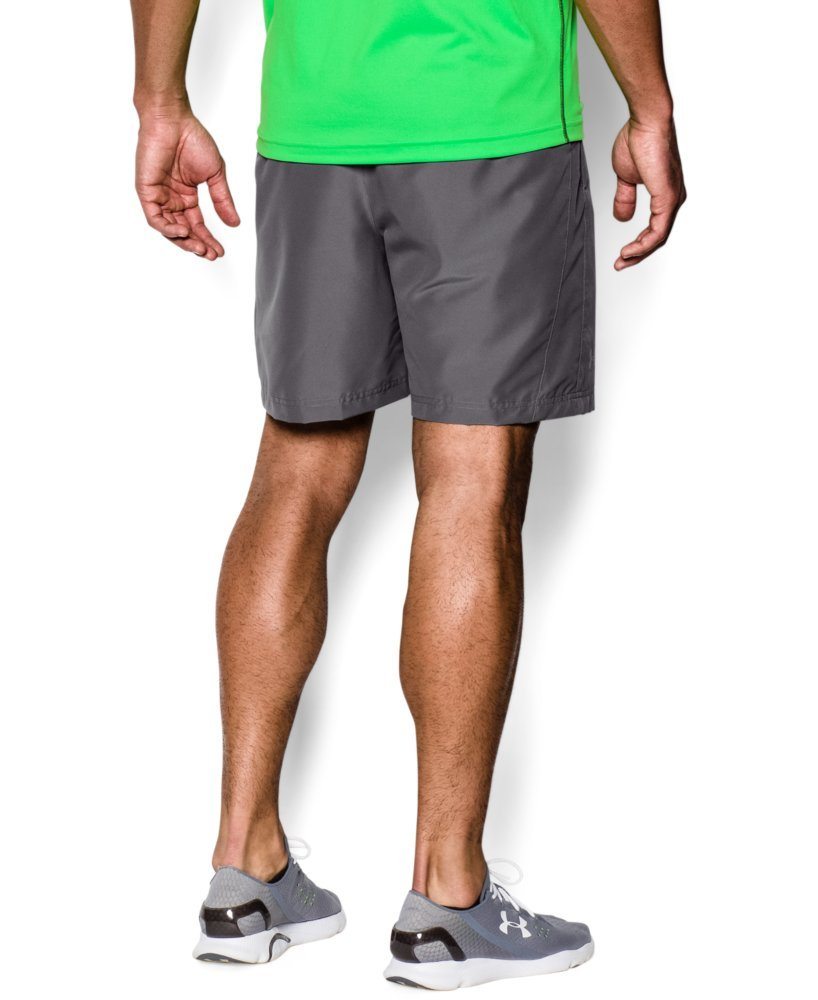 Under Armour Men's Launch Run Woven 7'' Run Shorts, Graphite /Reflective, Small by Under Armour (Image #2)