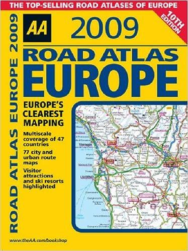 AA Road Atlas Europe (AA Atlases and Maps): Amazon.co.uk: AA ...