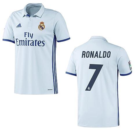 Adidas 2016 / 2017 - Camiseta de equipación local de Real Madrid para niñ