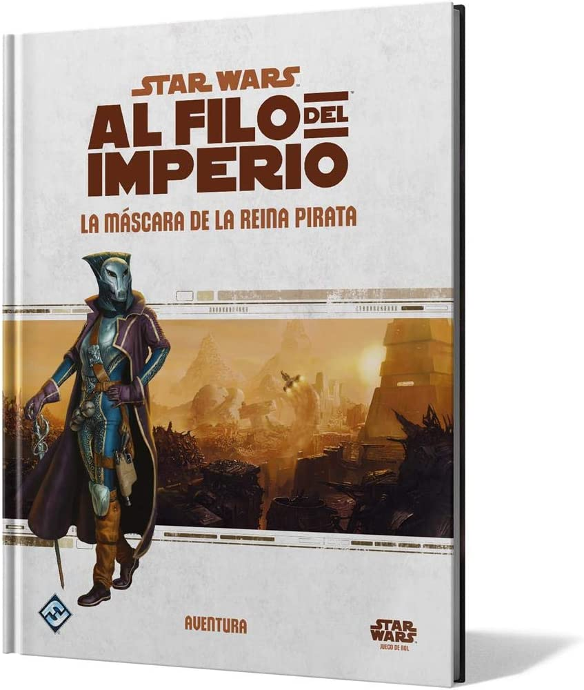 Fantasy Flight Games- Star Wars Al Filo del Imperio - La Máscara de la Reina Pirata - Español, Color (FFSWE13): Amazon.es: Juguetes y juegos