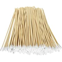 """Fu Store 200 Pcs Count 6"""" Inch Long Cotton Swabs with Wooden Handles Cotton Tipped Applicator, Cleaning With Wood Handle…"""