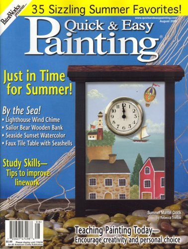 Quick & Easy Painting, August 2008 Issue