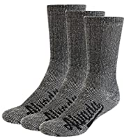 AIvada 80% Merino Wool Hiking Socks Thermal Warm Crew Winter Sock for Men & Women 3 Pairs