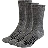 Alvada 80% Merino Wool Hiking Socks Thermal Warm Crew Winter Sock for Men & Women 3 Pairs
