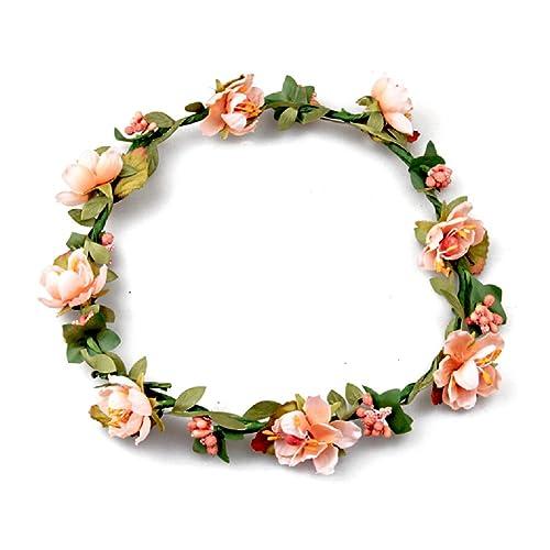 Floral Fall BOHO Headband Flower Crown Festival Wedding Beach Hair Wreath F-01