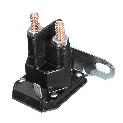 RENCALO Interruptor de relé de solenoide de Arranque de 3 ...