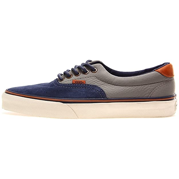 0faa3e2175 Vans Era 59 CA Dress Blue Moon Mist Skate Shoes Trainers UK 9.5   Amazon.co.uk  Shoes   Bags