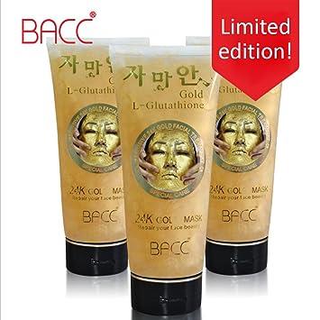 24k gold mask