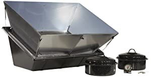 Solavore Sport Solar Oven - Portable Solar Cooking Package Complete with All Season Solar Reflectors