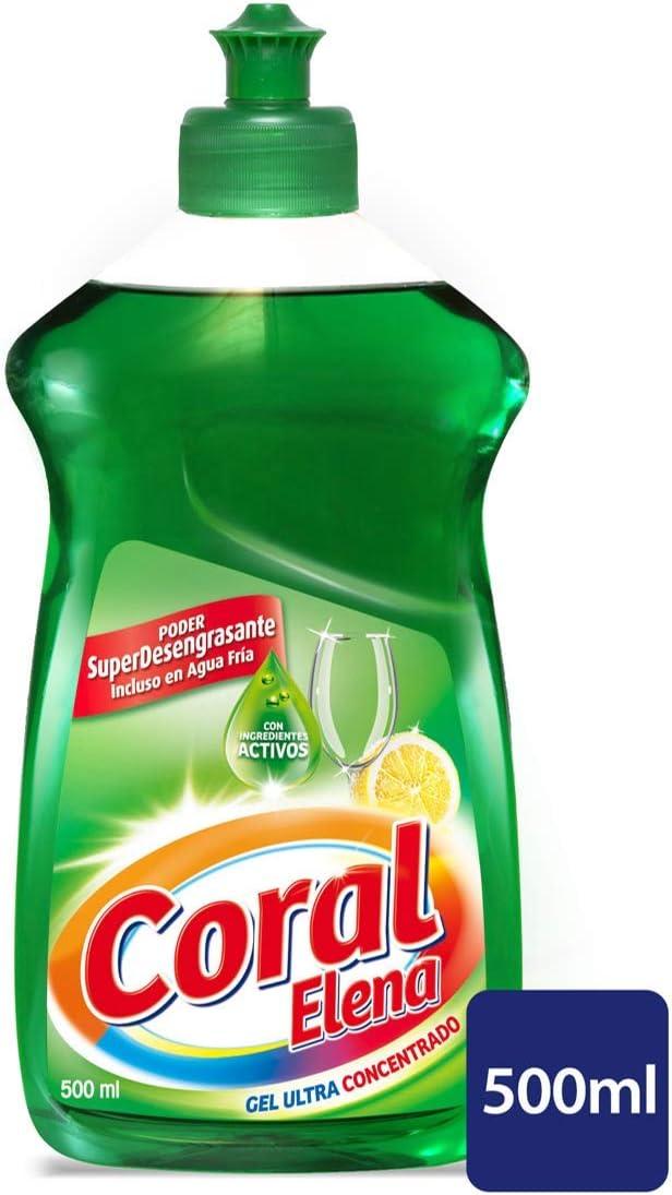 Coral Lavavajillas a Mano Ultra Concentrado - 500 ml