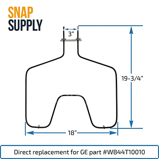 amazon com: snap supply bake element for ge directly replaces wb44t10010:  home improvement