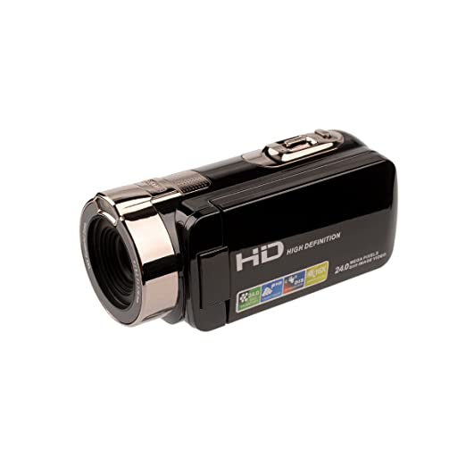 3 opinioni per Ckeyin ® 24 Megapixel 16X Zoom Full HD Videocamera Digital Video Camcorder 270