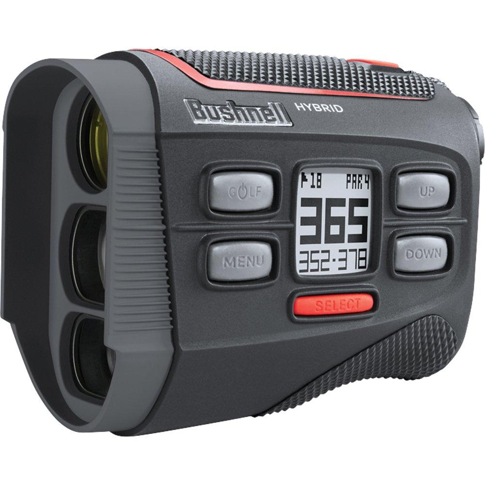 Bushnell Bundle 2018 Hybrid Golf Laser Rangefinder GPS 2 Two CR2 Batteries Custom Ball Marker Hat Clip Set American Eagle