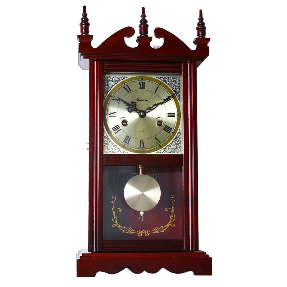 reloj mesa madera real tallada péndulo Relojes de hacer pivotar ...