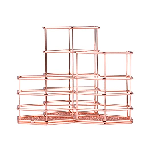 Kentop – Portalápices de metal, organizador de mesa ...