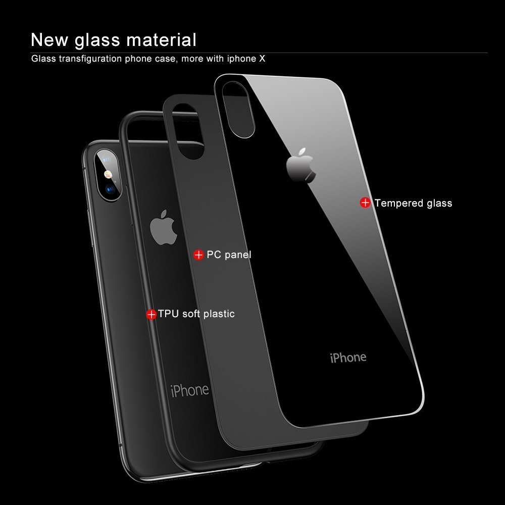 reputable site bfae4 5fa12 Inbase Black Back Case for Apple iPhone X iPhone 10