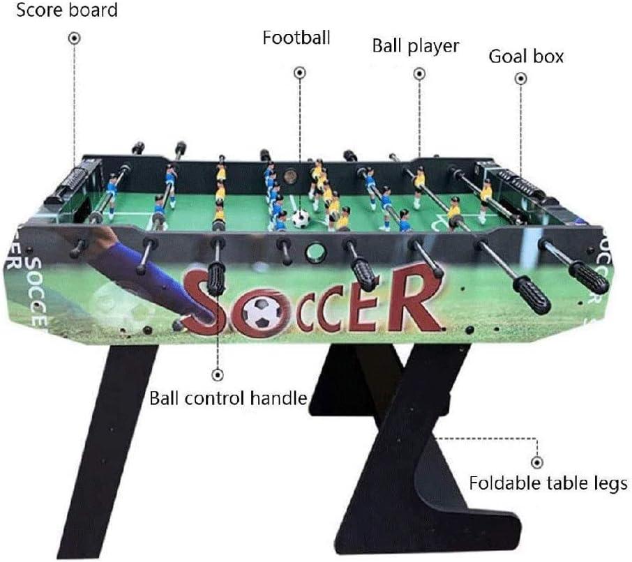 ZY Plegable Mesa de futbolín, de Madera de la Competencia de ...