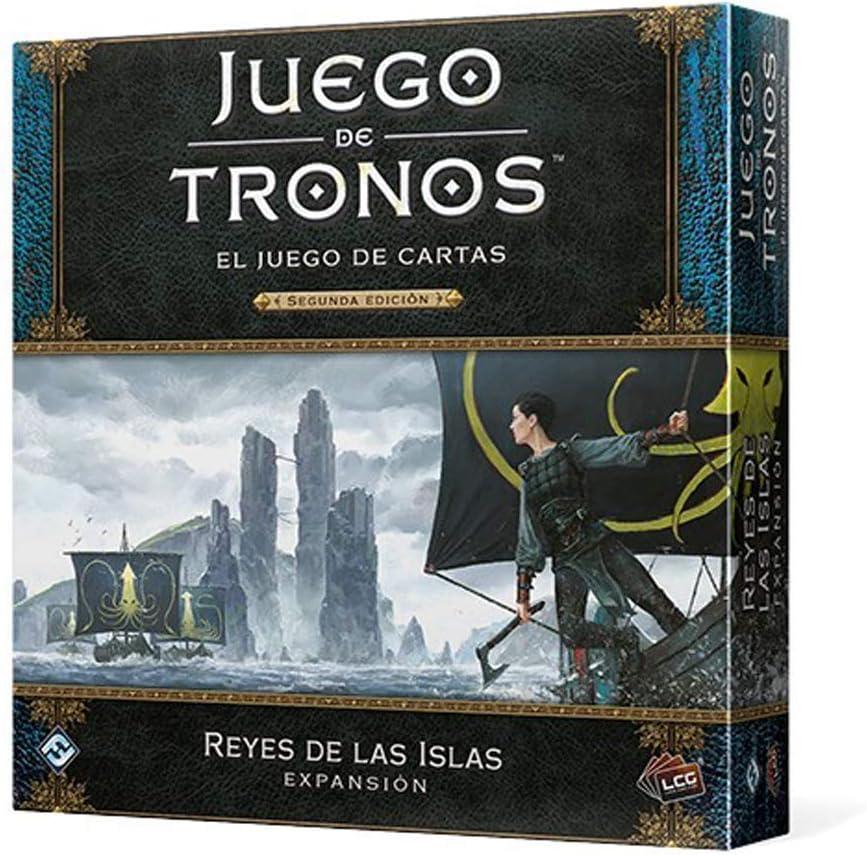 Fantasy Flight Games- Juego de Tronos LCG: Reyes de Las Islas - Español, Color (GT45ES): Amazon.es: Juguetes y juegos