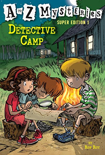 Detective Camp (A to Z Mysteries Super Edition, No. 1) -