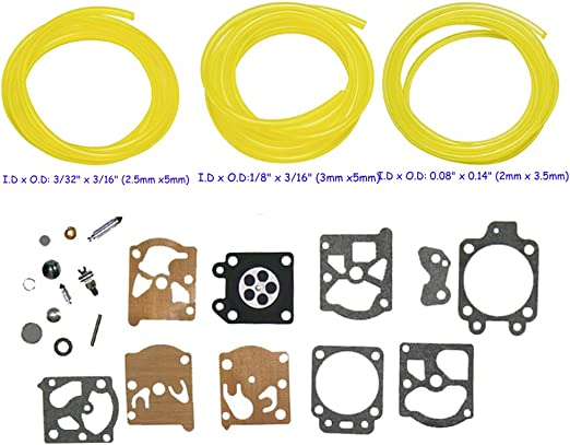 HIFROM K20-WAT Kit de reconstrucción de carburador diafragma junta ...