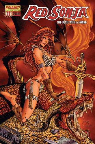 Download Red Sonja (Dynamite) (2005) #11-C ebook