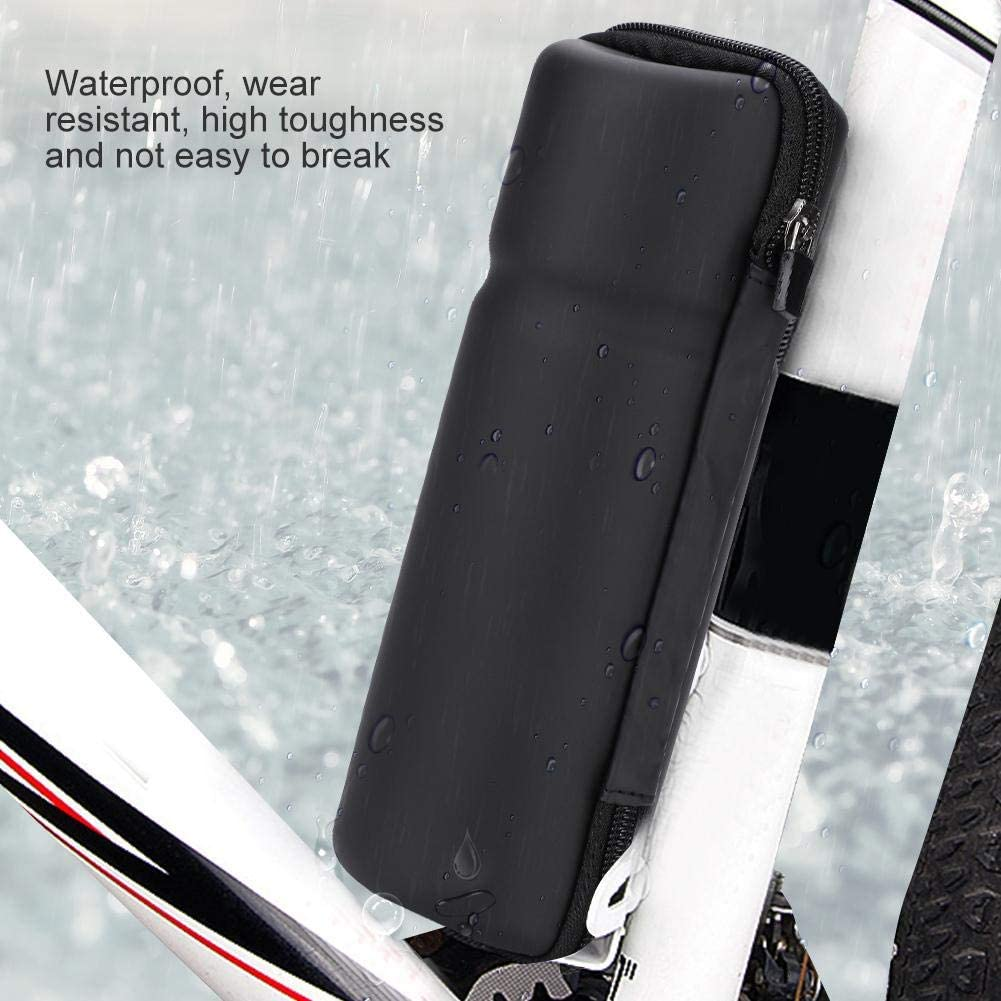 Vbestlife Bike Tool Capsule Waterproof Biking Zip Case Tool Bag Cycling Tool Bottle Storage Mountain Bike Road Bicycle Kettle Rack Bottle Hard Shell Package Pouch Bag