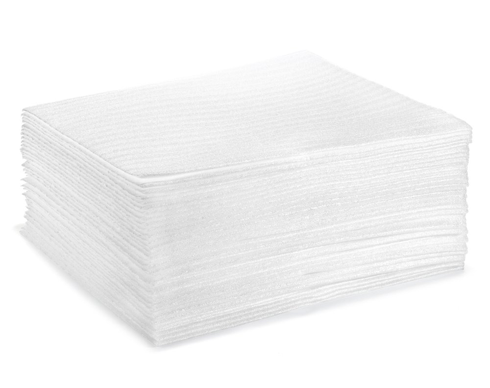 Foam Pouches | UCGOU 9.5'' x 9.5'' Foam Cushioning Wrap Pouch as Dish Wrap and Glassware Packing Supply- Safely Wrap Cup, China, Glass | Packing Supplies Used for Moving | 1/16'' Thick 50-Pack by UCGOU (Image #5)